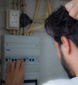 Help, afsluiting elektriciteit